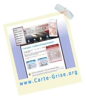 carte grise org certificat immatriculation SARL MAXMATHO